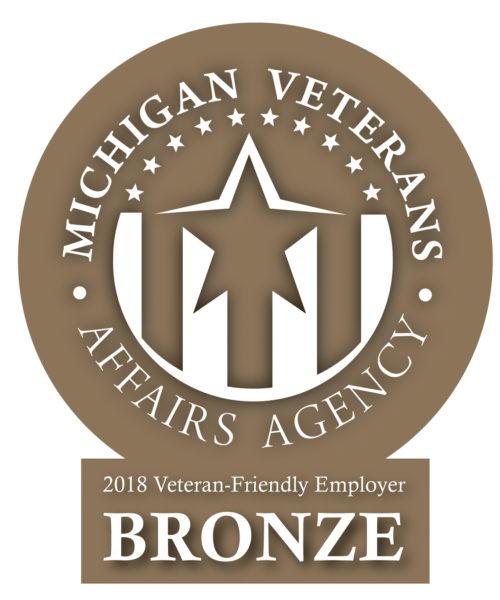 Bronze certified veteran friendly trucking company.
