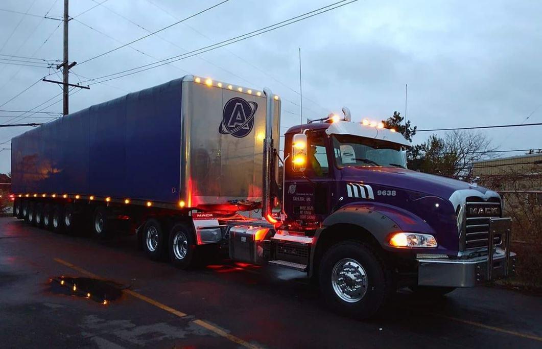 New 2018 Mack Granite with 8 Axle Conestoga